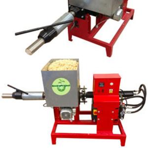 Брикетировочный  автоматический  мини-пресс для древесных опилок