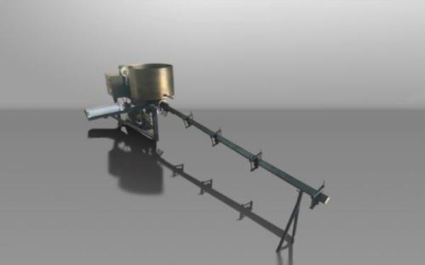 Брикетировочный  мини-пресс для биомассы  PG40